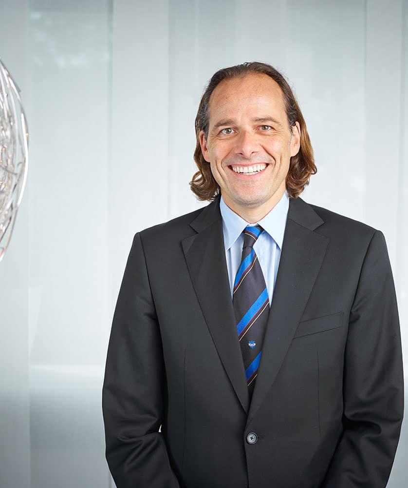 Der Vorstand der RWS AG - Alexander von Roon