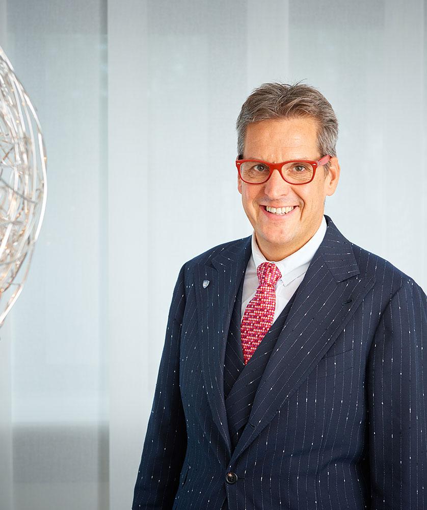 Der Vorstand der RWS AG - Jörg Christian Hickmann