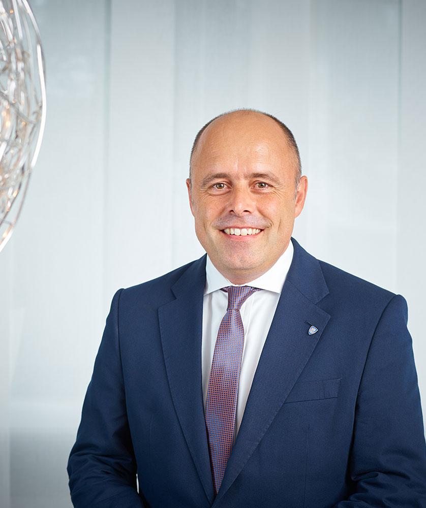 Der Vorstand der RWS AG - Jens Burmeister