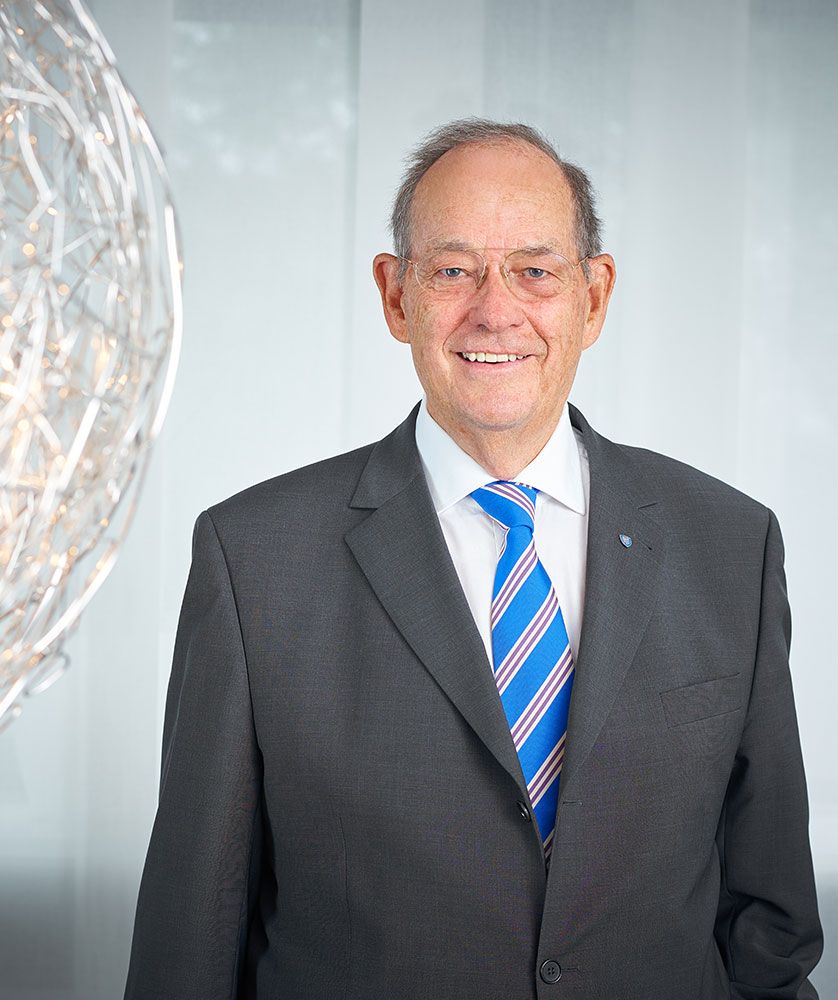 Der Vorstand der RWS AG - Waldemar von Roon