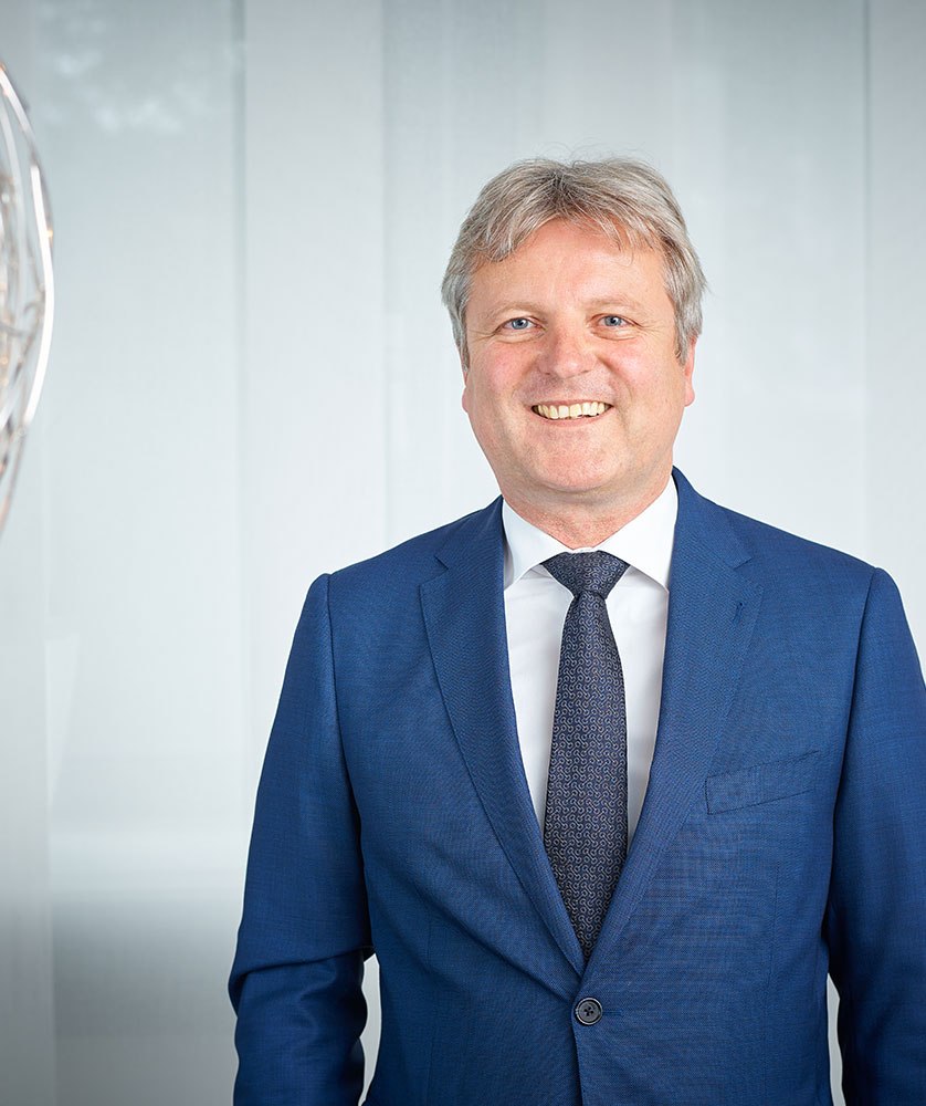 Der Vorstand der RWS AG - Bernd Hagemeier